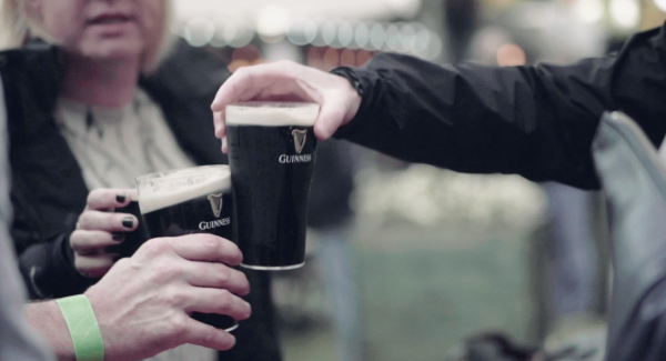 Flat Iron Square x Guinness
